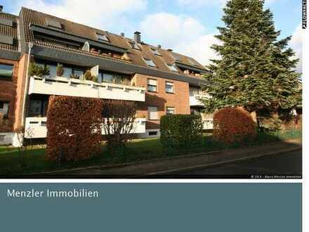 Smarter Wohnen! Große 3-Zi.-Wohnung mit großer S/W-Terrasse! DG-Maisonette! Erkrath-Unterfeldhaus!