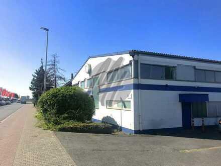 KEINE PROVISION ✓ NÄHE BAB ✓ Gewerbeobjekt mit Lager-/Produktion (1.000 m²) & Büro-/Service (600 m²)