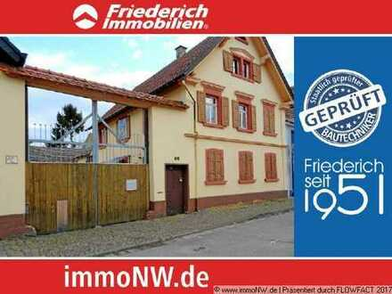 Sanierungsobjekt (EFH, Anbau, Garage, Scheune, Garten) in Hochdorf Assenheim zu verkaufen