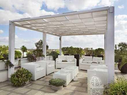 !!! Lichtdurchflutete Penthousewohnung mit 30 m² Dachterrasse !!!