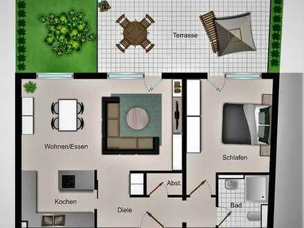 Direkt einziehen ... Neubau: 78 m² Erdgeschoss-Wohnung mit hohem Qualitätsstandard zur Selbstnutzung