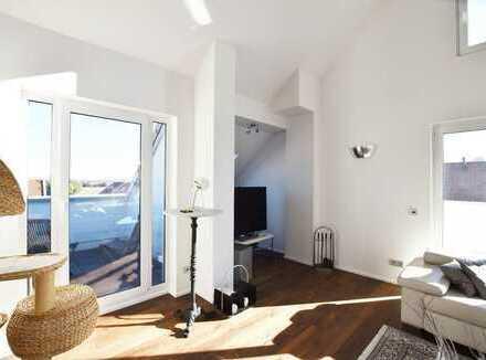 Frankfurt-Kalbach: Exklusives 4 ZKB Penthouse mit schöner Sonnenterrasse in ruhiger Lage