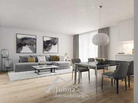 Kurze Wege und nah am Geschehen! Großzügige, individuell planbare 3-Zimmer- Neubauwohnung!