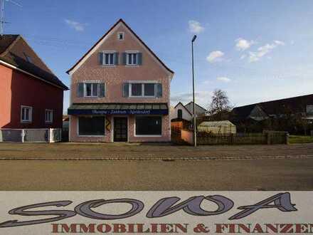 Wohn-/Geschäftshaus mit viel Potenzial in einer ruhigen Lage in Nordendorf - Ein Objekt von Ihrem...