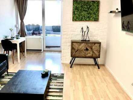 1-Zimmer-Apartment mit Balkon und traumhaftem Blick, 15. Stock! *modernisiert, möbliert und leer!*