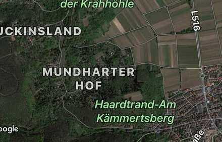 Wochenendhausgrundstück Mundharter Hof 1.020 m²