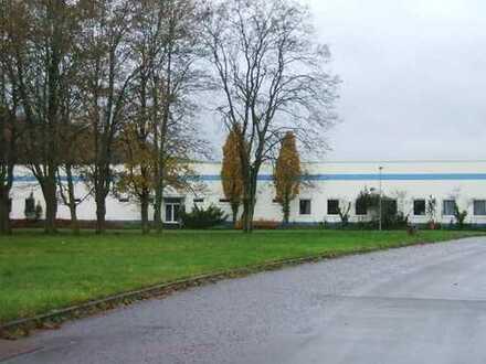 Hallenflächen - Produktionsflächen mit Büros und Versorgungsräumen
