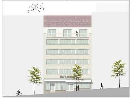 Sehr schöne großzügige neu renovierte 5-Zimmer Wohnung im DG, direkt im Zentrum, WG geeignet .