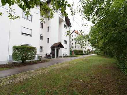 Kapitalanlage ! Vermietete 3-Zimmer-Wohnung in zentraler Lage mit Süd-Balkon