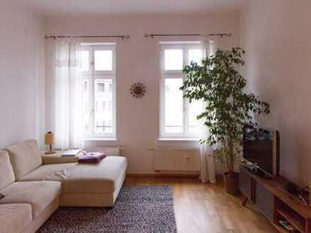 Ruhige 3-Zimmer-Wohnung mit Balkonblick zum Auenwald