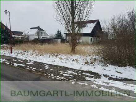 Baugrundstück für ein Einfamilienhaus in Böhlen bei Grimma in ruhiger Lage