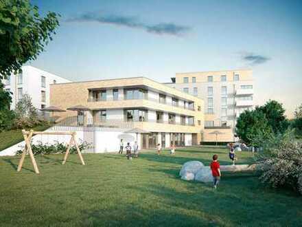 Zum Wohlfühlen! Moderne Familienwohnung mit sonnigem Balkon // KITA im Quartier