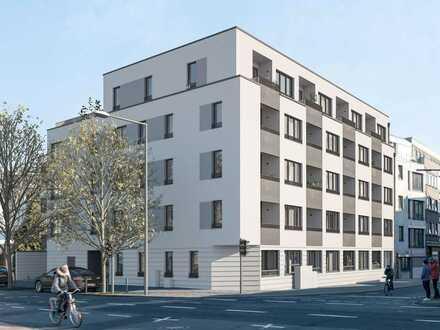 Großzügiges City-Apartment mit Tageslichtbad und West-Loggia in zentraler Lage nahe am Rhein