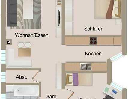 3 Zimmer-Souterrain-Eigentumswohnung mit Carport und Garten in zentraler Lage von Knittelsheim
