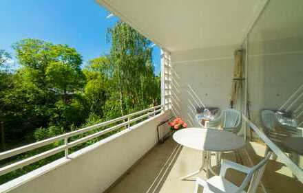 Schöne Wohnlage mit großem Balkon in Essen Stadtwald