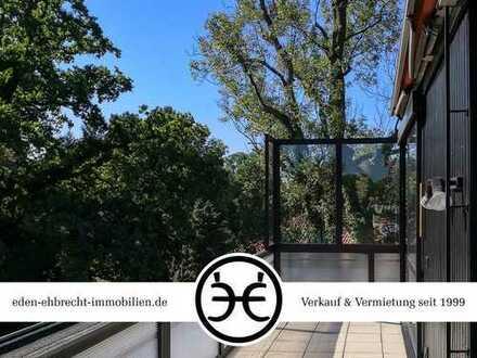 BESTE LAGE | Schönes Penthouse mit Blick auf den Schloßgarten | Sauna & Pool
