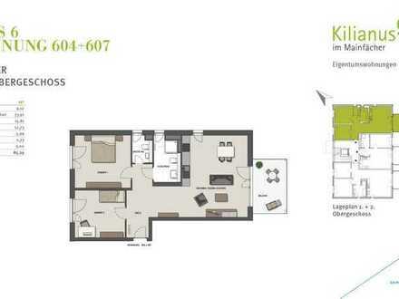 Erstbezug: schöne 3-Zimmer-Wohnung mit Balkon in Mainhausen