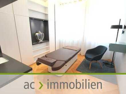 ac | Moderner möblierter Raum für Wellness- und Kosmetikbehandlungen / Praxis