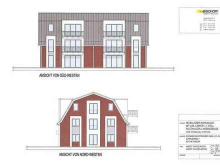 Neubau Obergeschosswohnung in Hude