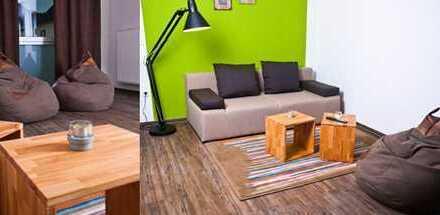 Vollmöbliertes 3 Zimmer Wohnung in der City von Bielefeld
