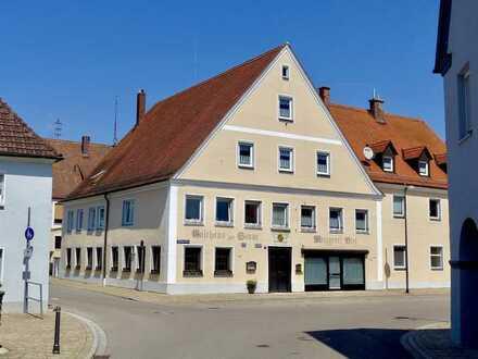 Innenstadtnahe Gaststätte für Visionäre in Oettingen i. Bay. (Vermietung)