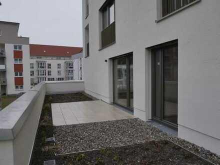 Schöne, geräumige 2-Zimmer Wohnung mit Terrasse in Kempten (Allgäu), Innenstadt