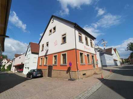 Eingesessenes gepflegtes Gasthaus mit Eigentümerwohnung in Oedheim zumVermieten
