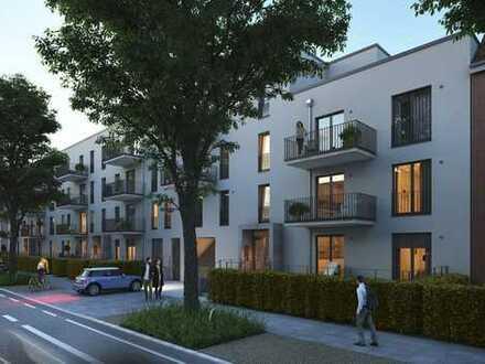 3 - Zimmer Neubau - Erdgeschosswohnung mit Gartenanteil - PROVISIONSFREI!