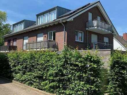 2-Zimmer Neubau-Dachgeschoss-Wohnung mit Balkon in schöner Lage