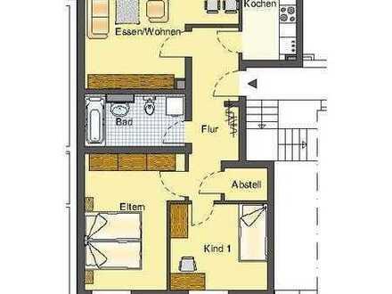 Schöne 3 Zimmer Wohnung mitten im Grünen und doch zentral gelgen !!