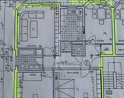 Ansprechende 4-Zimmer-Wohnung mit Balkon in Gondelsheim