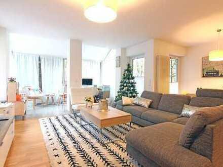 Baden-Baden: 3,5 Zimmerwohnung im Erdgeschoss mit Wintergarten und Terrasse