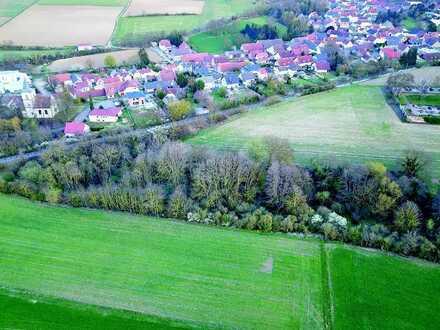 Restflächen - Grün- und Ackerflächen