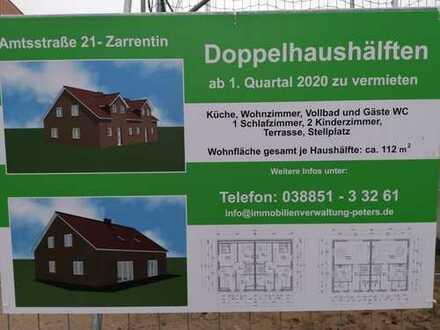 Wohnung - Doppelhaushälfte in Zarrentin in der Amtsstraße direkt am Schaalsee zu vermieten