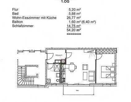 2-Zimmer-Wohnung mit Ost-Balkon in Memmingen