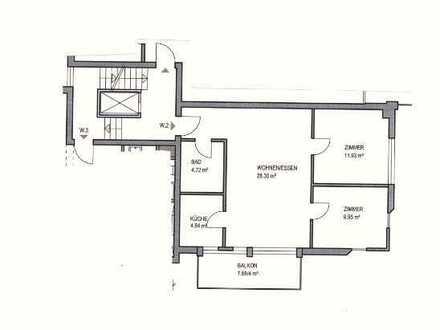 3-Zimmer- Wohnung / Altersgerecht