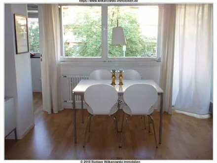 Berlin-Charlottenburg - Möbliertes Studioapartment mit großem Balkon und Fahrstuhl