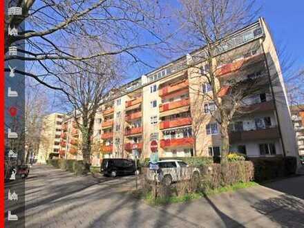 Bezugsfrei ab Sommer 2020: Schöne 3-Zimmer-Wohnung mit Wohnküche und Westbalkon in Isarnähe