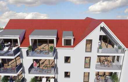 Neubauprojekt! Große 3 Zi. Wohnung mit herrlichem Mainblick - barrierefrei!