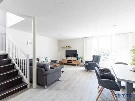 Maisonette ETW in moderner DHH! 102 qm plus ausgebauter Spitzboden und Balkon. In Köln Widdersdorf