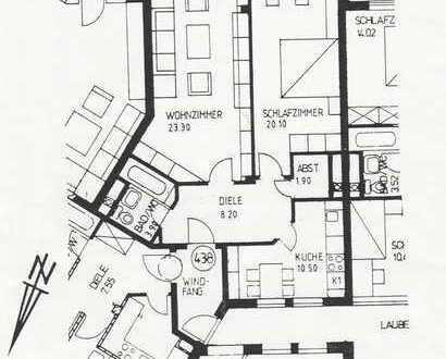 Stilvolle, gepflegte 2-Zimmer-Wohnung mit Einbauküche in Garching
