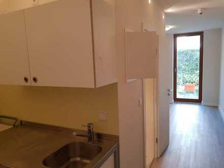 Gemütliche 1-Zimmer-Wohnung mit Terrasse und Einbauküche in Uninähe