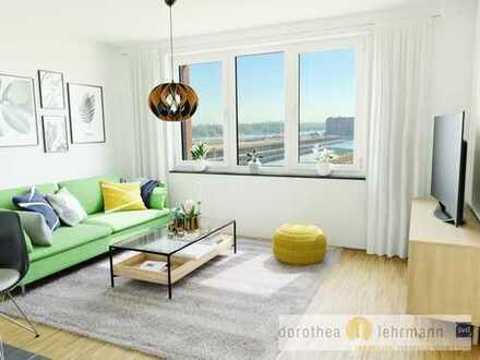 Schick und komfortabel wohnen in einem Neubau als Erstbezug im Hafenviertel direkt am Rhein