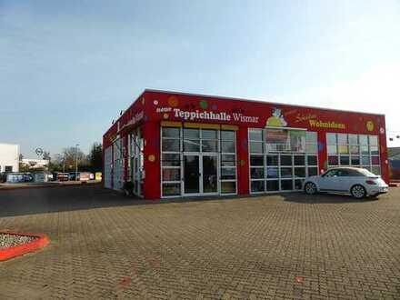 Top gepflegte Verkaufshalle in sehr guter Lage von Wismar!