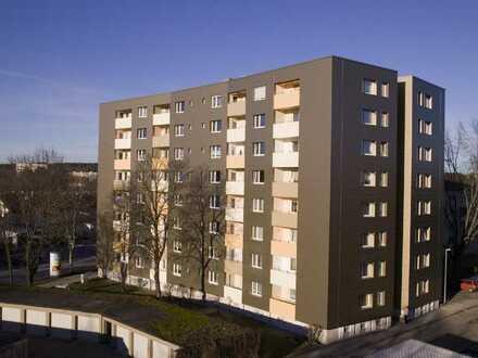 renovierte 2-Zimmerwohnung mit Balkon in zentrumsnähe
