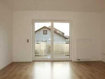 perfekt geschnittene 2-Zimmer Wohnung mit großem West-Balkon