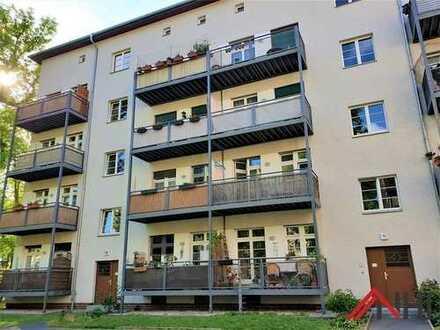 Prachtvolle Villen und Mietshäuser ... Gut vermietete Eigentumswohnung in Gohlis