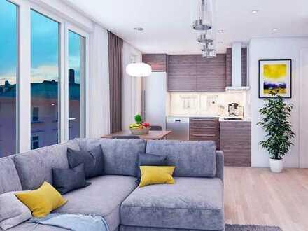 Urbanes Wohnen in Bestlage! 2-Zimmer Wohnung mit Tageslichtbad und 2 ruhigen Balkonen