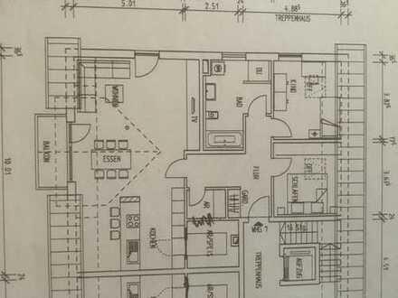 Erstbezug: ansprechende 3-Zimmer-DG-Wohnung mit Balkon in Ergolding