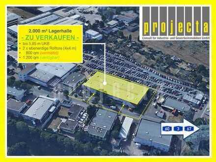 2.000 m² HALLE * ZU VERKAUFEN / ZU VERMIETEN * TOP LAGE